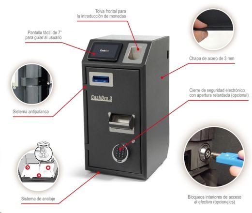 caja para pago automatico cashdro3