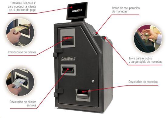 caja para pago automatico cashdro4pos