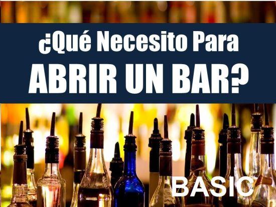EQUIPAMIENTO BARRA BAR MODELO BASIC