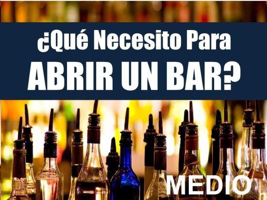 EQUIPAMIENTO BARRA BAR MODELO MEDIO