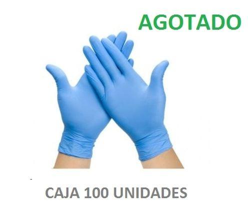 GUANTES NITRILO MEDIANA K-100