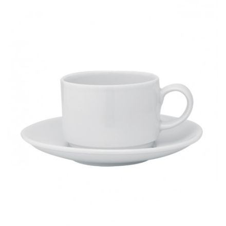 LUNA TAZA CAFE C/PLATILLO APILABLE