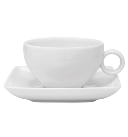 CARRE WHITE TAZA TE C/PLATILLO