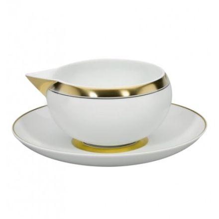 DOMO GOLD SALSERA C/PLATILLO 50CL