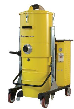 ASPIRADOR INDUSTRIAL 3/400V. 5.500W. 100L.