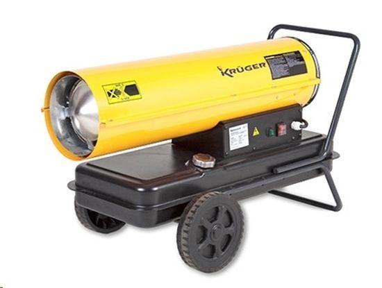 CALEFACTOR 230V. 24L. 25.800 KCAL./H. GASOIL