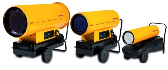 CALEFACTOR 230V.100L. 99.100 KCAL./H. GASOIL