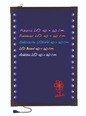 PIZARRA ELECTRICA LEDS 40X60 CM
