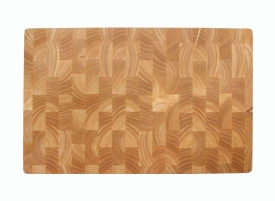 TABLA CORTE RUBBER WOOD 530X325X40 CM