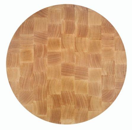 TABLA CORTE RUBBER WOOD 400X400X40 MM