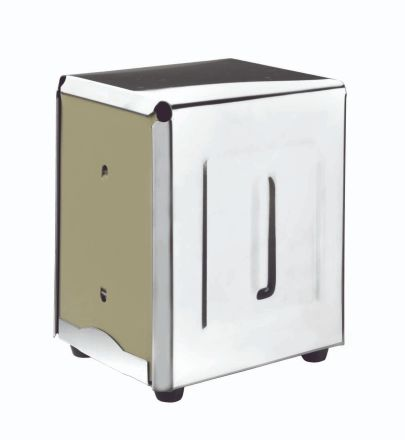 SERVILLETERO BAR INOX 9.5x13.5 CM
