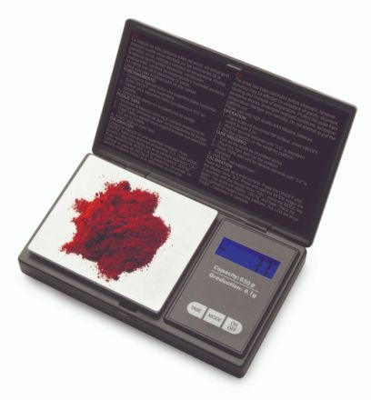 BASCULA PRECISION DE BOLSILLO 650 GR