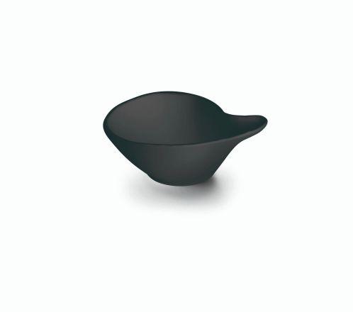 BOL SALSA MELAMINA BLACK 14X12X5 CM