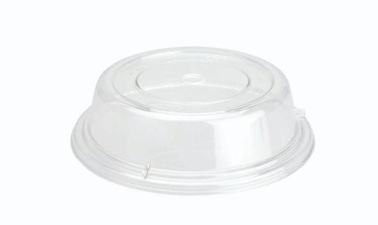 TAPA CUBREPLATOS REDOND.PC BPA-FREE 25x7