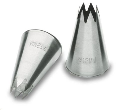 BOQUILLA ESTRELLA 6 M.M. INOX18/1 K6