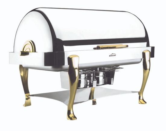 CHAFING DISH ROLL TOP PATAS LATON 1/1