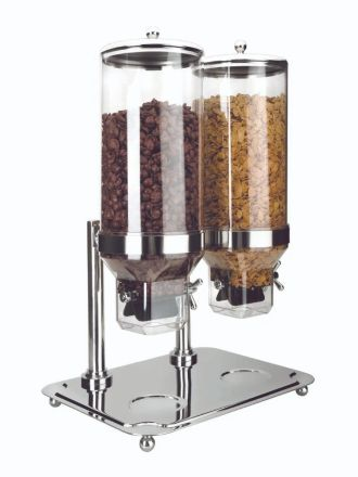 DISPENSADOR DE CEREALES CON BASE