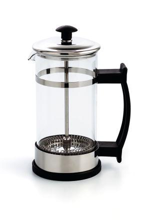 CAFETERA EMBOLO INOX 350 ML SERENIA QD