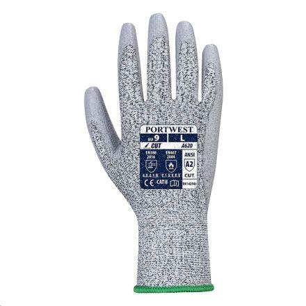 Guante lr cut pu palm glove talla m